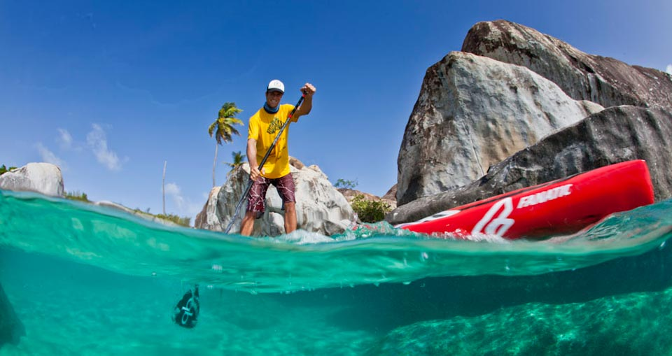Paddleboard Rental on St. John
