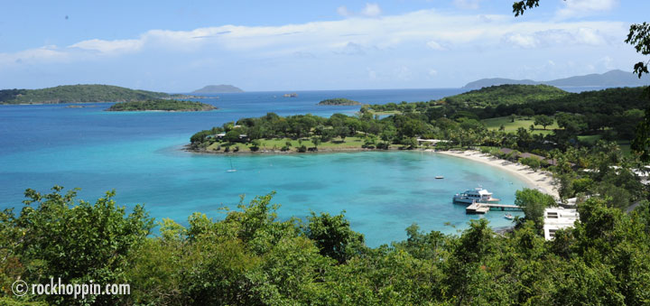 Rockhoppin' Charters home port in beatiful St. John, USVI